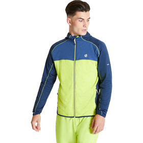 Dare 2b Ratified II Veste Homme, lime punch/nightfall navy/dark denim